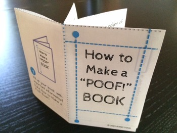 Poof Book Instructional Guide Template & Tutorial
