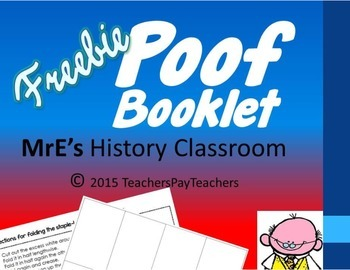 """Poof"" Booklets"