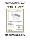 Pook-E-Mon Dochotomous Key