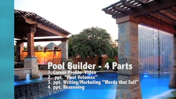 Pool Builder Career Video & Skill Applications