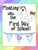 Pool Floats Room Decoration - Banner and Clipart