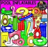Pool Inflatables Clip Art {Educlips Clipart}
