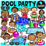 Pool Party Clip Art {Educlips Clipart}