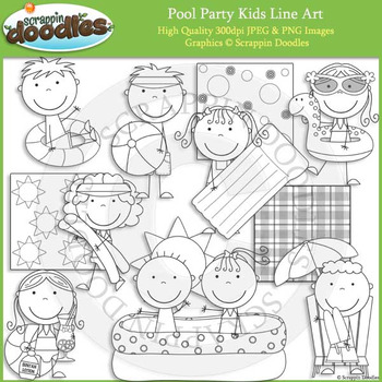 Pool Party Kids
