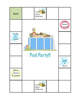 Pool Party Reinforcement Game