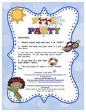Sight Word Games Kindergarten 1st 2nd 3rd | Sight Word Sentence Game Summer