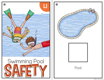 Pool Safety Adapted Books ( Level 1 and Level 2 )