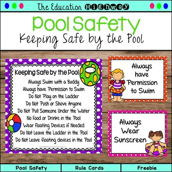Pool Safety | Rule Cards