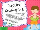 Pool Time Auditory Memory Pack