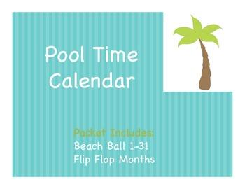 Pool Time Calendar