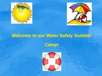 Water Safety Powerpoint- Pools and Hot Tubs