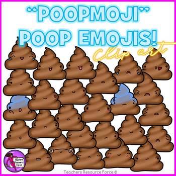 Poop Emoji Clip Art