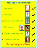 Poop in Potty Vertical Schedule