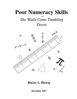 Poor Numeracy Skills and the Walls come Tumbling Down - FREE