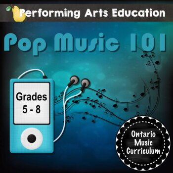 Pop 101 (Marianas Trench) - A 4-Lesson Pack To Study the P