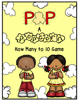 Pop! A Popcorn How Many to 10 Game