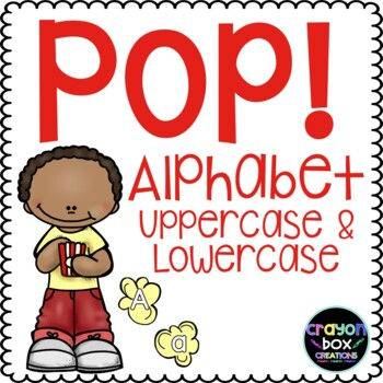 Pop! Uppercase & Lowercase Game