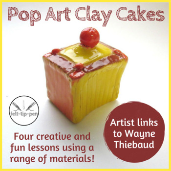 Pop Art Clay Cakes series of four lessons