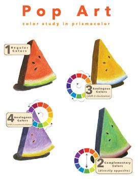 Pop Art: Colored Pencil Unit