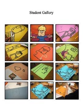 Pop Art Comic Strip Lesson Plan