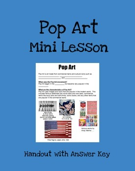 Pop Art Mini Lesson