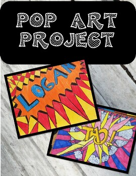 Pop Art Name Project