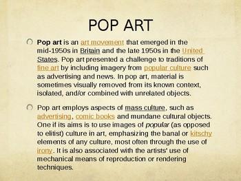 Pop Art PPT