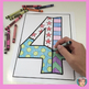Numbers 0 to 10 Pop Art Coloring