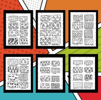 Pop Art Pattern Packet