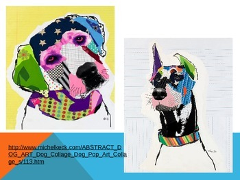 Pop Art Powerpoint focusing on Michele Keck
