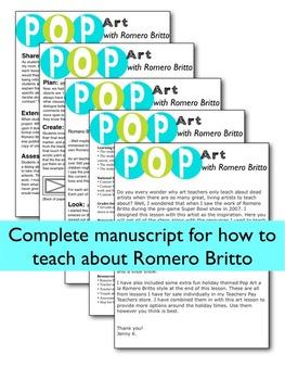 Romero Britto - Art Lesson