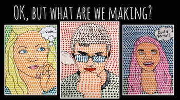 Pop Art Self Portraits