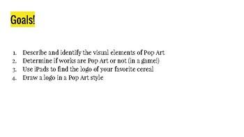 Pop Art Slide Show