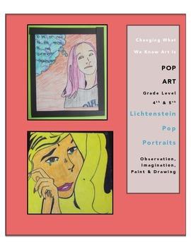 Art Lessons: Pop Art Unit and Activities