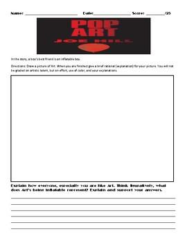 Pop Art by Joe Hill Assignment