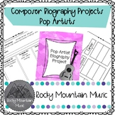 Pop Artist Biography Project