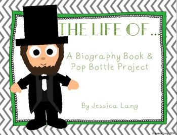 Pop Bottle & Mini Biography Book Project