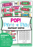 Pop! Addition Game for Christmas