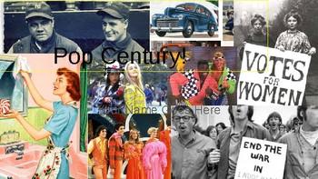 Pop Century-Through the Decades