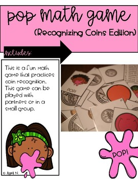 Pop Coin Recognition Game