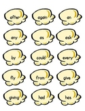 Pop Corn Sight Words -- Second Grade