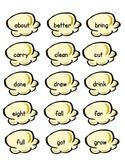 Pop Corn Sight Words -- Third Grade