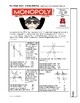Pop Culture Puzzle - Parallel Lines Cut by a Transversal Angle ID - Monopoly