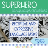 Superheroes - Middle & High School Speech Therapy Comprehension Activities