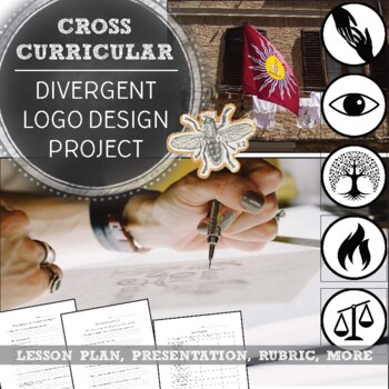 Pop Culture in Art, Logo Design: Divergent Lesson Plan and PowerPoint Pack