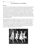 Roaring 20's: Pop Culture of the 1920's - Flappers, Fashio