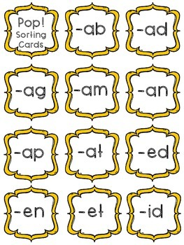 Short Vowel- POP!