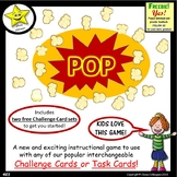 Pop! Game for Challenge Cards and Task Cards