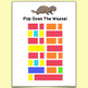 Pop Goes The Weasel Color-Coded Easy To Play Song Sheet