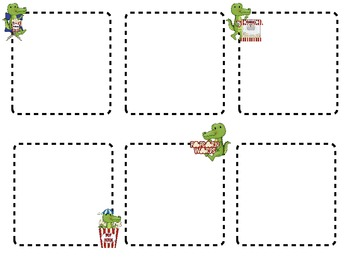 Pop Goes the Gator! A Popcorn Word Game for Kindergarten
